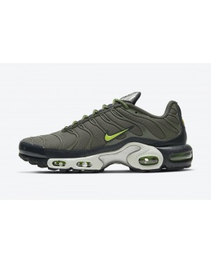 DB4609-300 3M x Nike Air Max Plus Homme - Twilight Marsh/Anthracite-Blanche-Volt