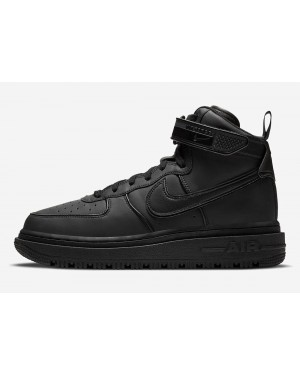 DA0418-001 Nike Air Force 1 High Winter Homme - Noir/Noir-Noir