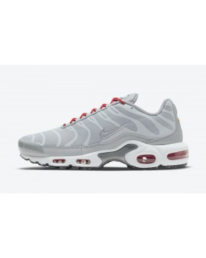 DD7112-001 Nike Air Max Plus Chaussures - Grise/Rouge
