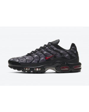 "DJ0638-001 Nike Air Max Plus ""Topography Pack"" - Noir/Rouge"