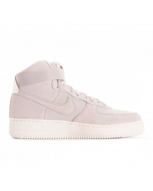AQ8649-001 Nike Air Force 1 High '07 Suede Chaussures - Desert Sand/Desert Sand-Sail
