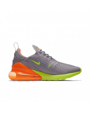 AH8050-012 Nike Air Max 270 - Grise/Orange/Hot Punch
