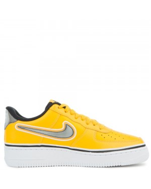 BV1168-700 Nike Air Force 1 Low - Or/Noir-Blanche