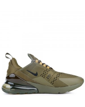 AH8050-301 Nike Air Max 270 Chaussures - Olive Canvas/Noir-Olive