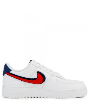 823511-106 Nike Air Force 1 '07 Lv8 - Blanche/Rouge/Bleu