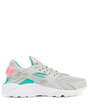 318429-053 Nike Air Huarache - Grise/Sunset Pulse/Vert