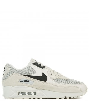 537384-074 Nike Air Max 90 Essential - Light Bone/Noir-Pure Platinum