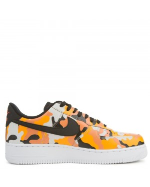 823511-800 Nike Air Force 1 07' LV8 - Orange/Noir-Orange
