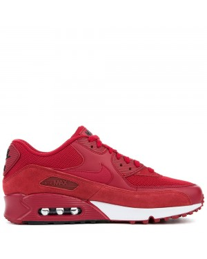 537384-604 Nike Air Max 90 Essential - Gym Rouge/Gym Rouge-Noir-Blanche