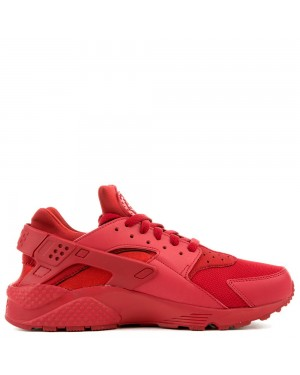 318429-660 Nike Air Huarache Homme Chaussures - Rouge/Rouge