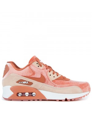 898512-201 Femme Nike Air Max 90 LX - Dusty Peach/Dusty Peach/Beige