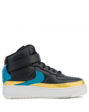 AR0625-001 Nike Air Force 1 Jester Hi XX - Noir/Blustery-Dusty Peach