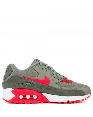 325213-044 Nike Air Max 90 - River Rock/Rouge-Dark Stucco