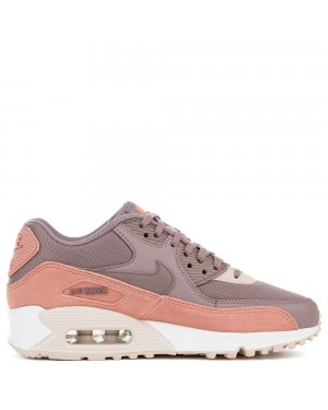 325213-611 Femme Nike AIR MAX 90 - Rouge/Grise/Blanche