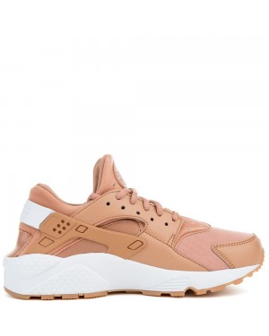 634835-200 Nike Air Huarache Run - Dusted Clay/Blanche-Jaune