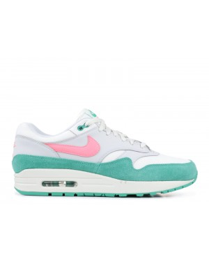 "Nike Air Max 1 ""Watermelon"" Blanche/Sunset Pulse-Vert AH8145-106"