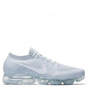 Chaussures Nike Air VaporMax Flyknit 849557-004 - Pure Platinum/Grise/Blanche