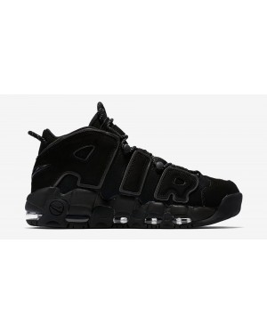 Nike Air More Uptempo Triple Noir | 414962-004