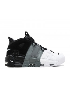"Nike Air More Uptempo ""Tri-Color"" Noir/Grise-Blanche 921948-002"