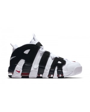 "Nike Air More Uptempo ""Scottie Pippen"" PE Blanche/Noir-Rouge 414962-105"