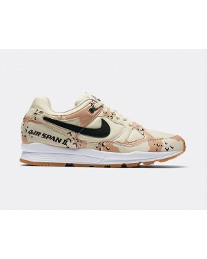AO1546-200 Nike Air Span II Premium - Beach/Noir-Praline-Light Cream