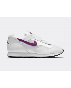 AO1069-109 Nike Femme Outburst Chaussures - Blanche/Violet-Noir