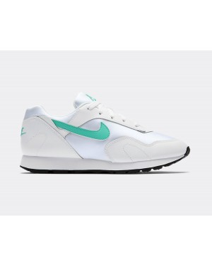 AO1069-107 Nike Femme Outburst Chaussures - Blanche/Turquoise-Noir