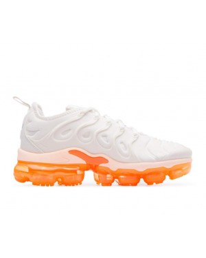 AO4550-005 Nike Femme Air Vapormax Plus - Phantom/Crimson Tint-Orange-Noir