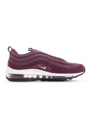 AQ4137-600 Nike Femme Air Max 97 SE Chaussures - Bordeaux/Rouge/Blanche