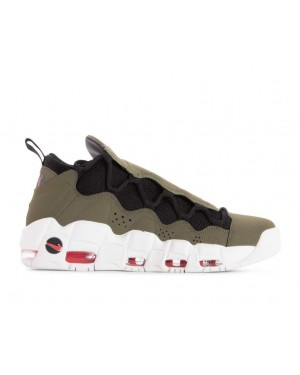 AJ2998-200 Nike Air More Money Chaussures - Olive/Noir-Rouge