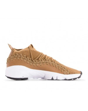 AO5417-200 Nike Air Footscape Woven NM Flyknit - Golden Beige/Beige-Noir-Blanche