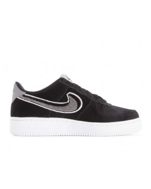 823511-014 Nike Air Force 1 07 Lv8 Chaussures - Noir/Blanche-Grise-Blanche