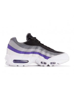 749766-110 Nike Air Max 95 Essential Chaussures - Blanche/Persian Violet-Grise