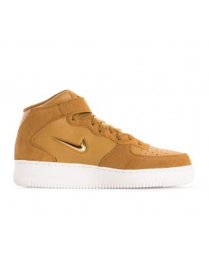 804609-200 Nike Air Force 1 Mid 07 Lv8 - Muted Bronze/Metallic Gold-Blanche