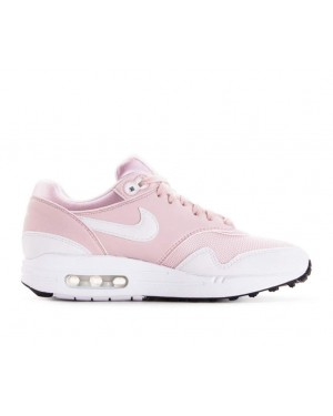 319986-607 Nike Femme Air Max 1 Chaussures - Barely Rose/Blanche
