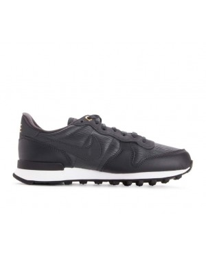 828404-012 Nike Femme Internationalist Premium - Anthracite/Blanche