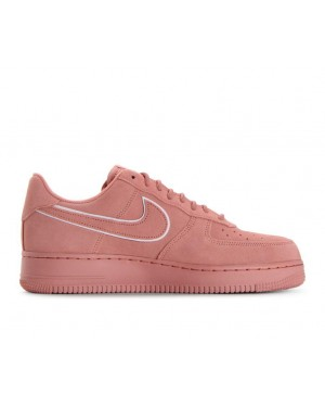 AA1117-601 Nike Air Force 1 '07 Lv8 Suede - Rouge/Rouge/Rouge