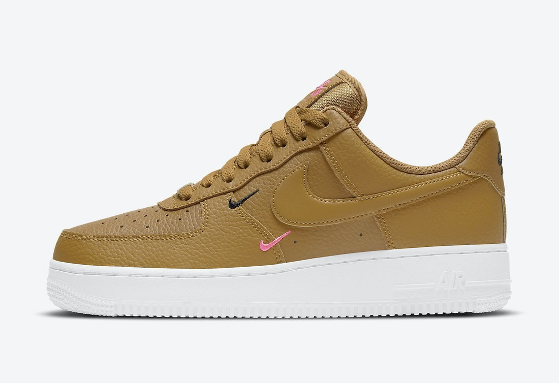 CT1989-700 Nike Air Force 1 Low Chaussures - Wheat/Rose-Blanche