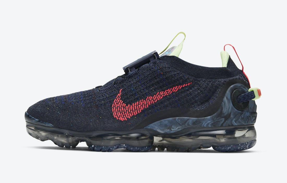 CW1765-400 Nike Air VaporMax 2020 - Obsidian/Rouge-Barely Volt