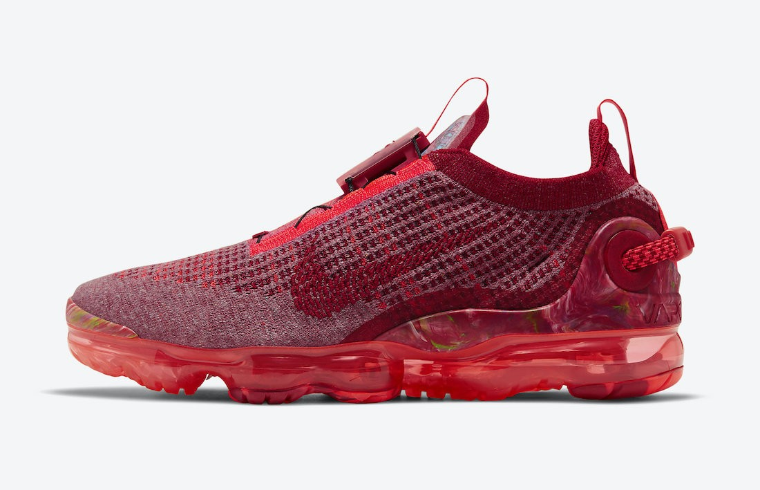 CT1823-600 Nike Air VaporMax 2020 Homme - Rouge/Rouge-Flash Crimson