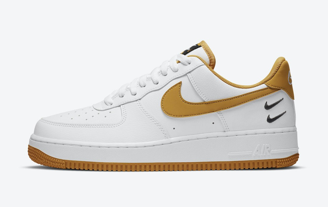 CT2300-100 Nike Air Force 1 Low Chaussures - Blanche/Wheat-Gum