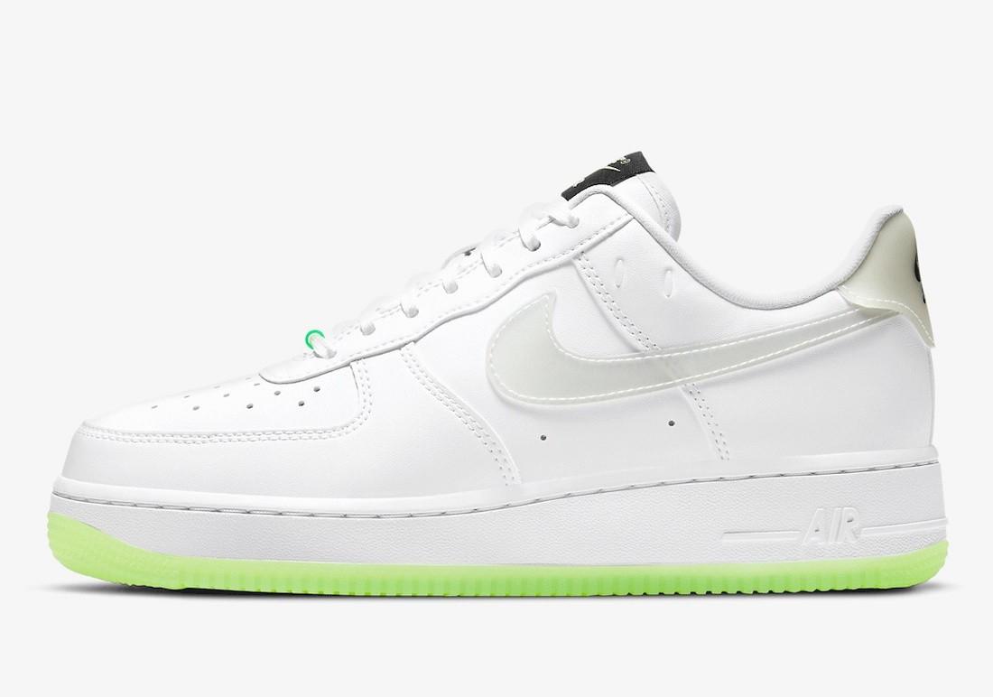 """CT3228-100 Nike Air Force 1 Low """"Have A Nike Day"""" - Blanche/Multi-color"""