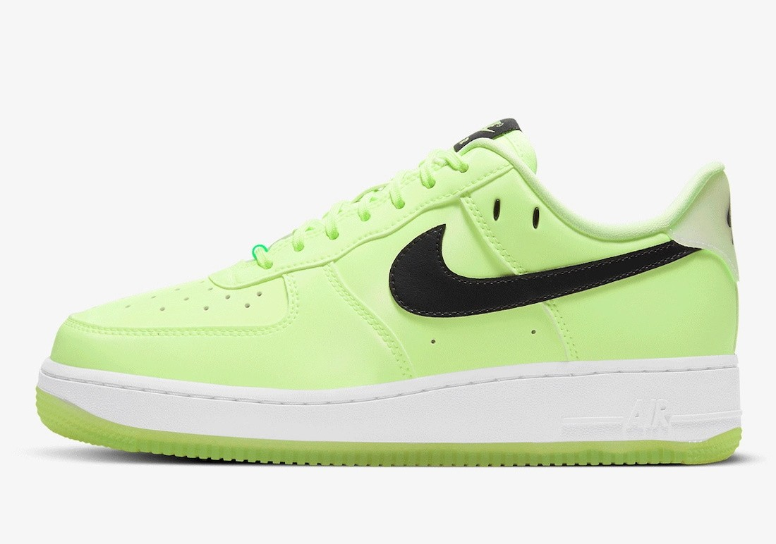 """CT3228-701 Nike Air Force 1 Low """"Have A Nike Day"""" - Barely Volt/Blanche"""