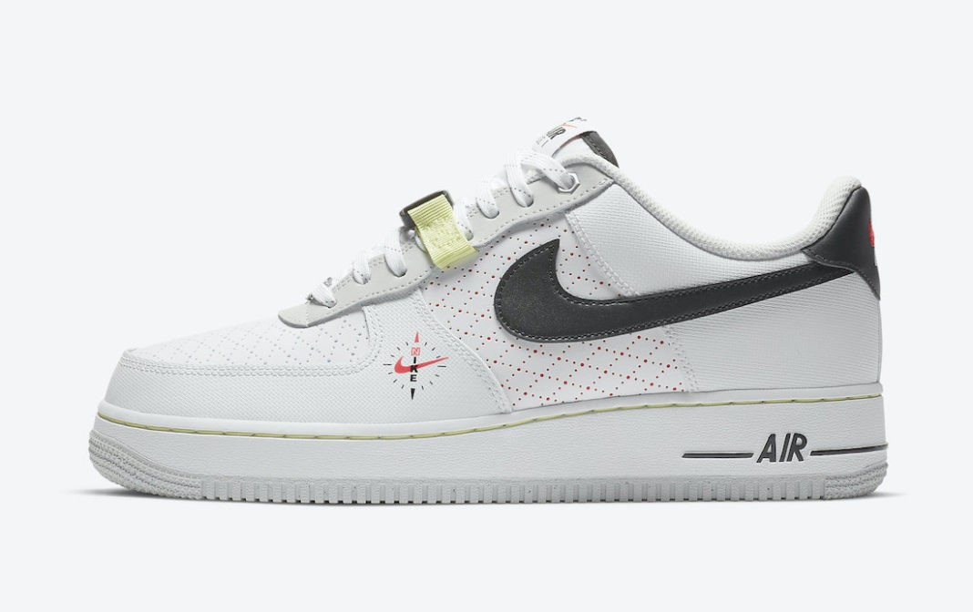 """DC2526-100 Nike Air Force 1 Low """"Fresh Perspective"""" - Blanche/Noir"""