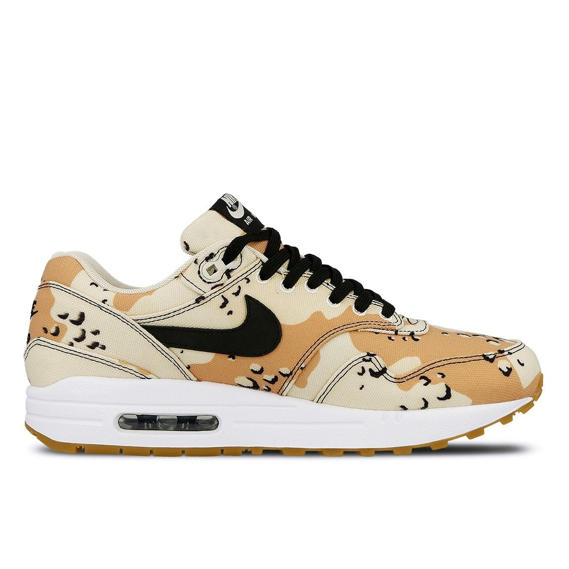875844-204 Nike Air Max 1 Premium Chaussures - Beach/Noir-Praline-Light Cream