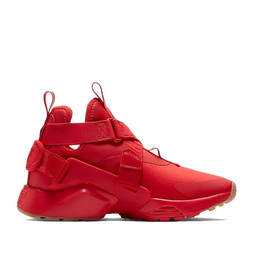 AH6787-600 Nike Femme Air Huarache City - Rouge/Noir/Marron