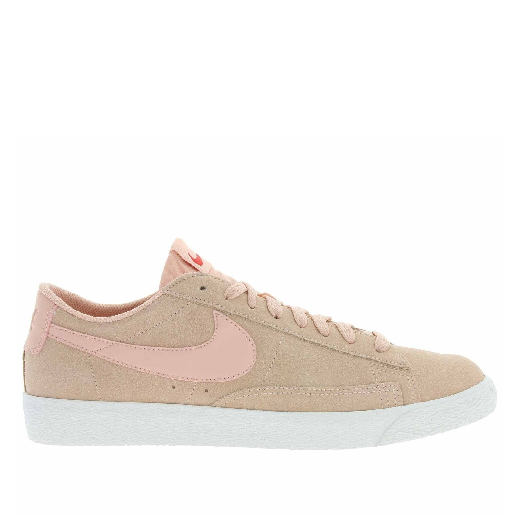 371760-801 Nike Blazer Low Chaussures - Orange/Sail