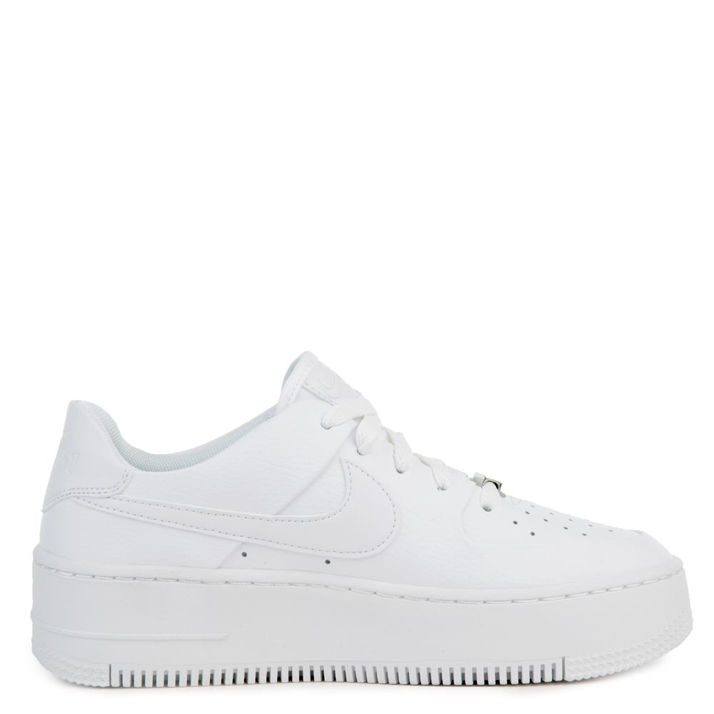 AR5339-100 Nike Air Force 1 Sage Low Chaussures - Blanche/Blanche-Blanche