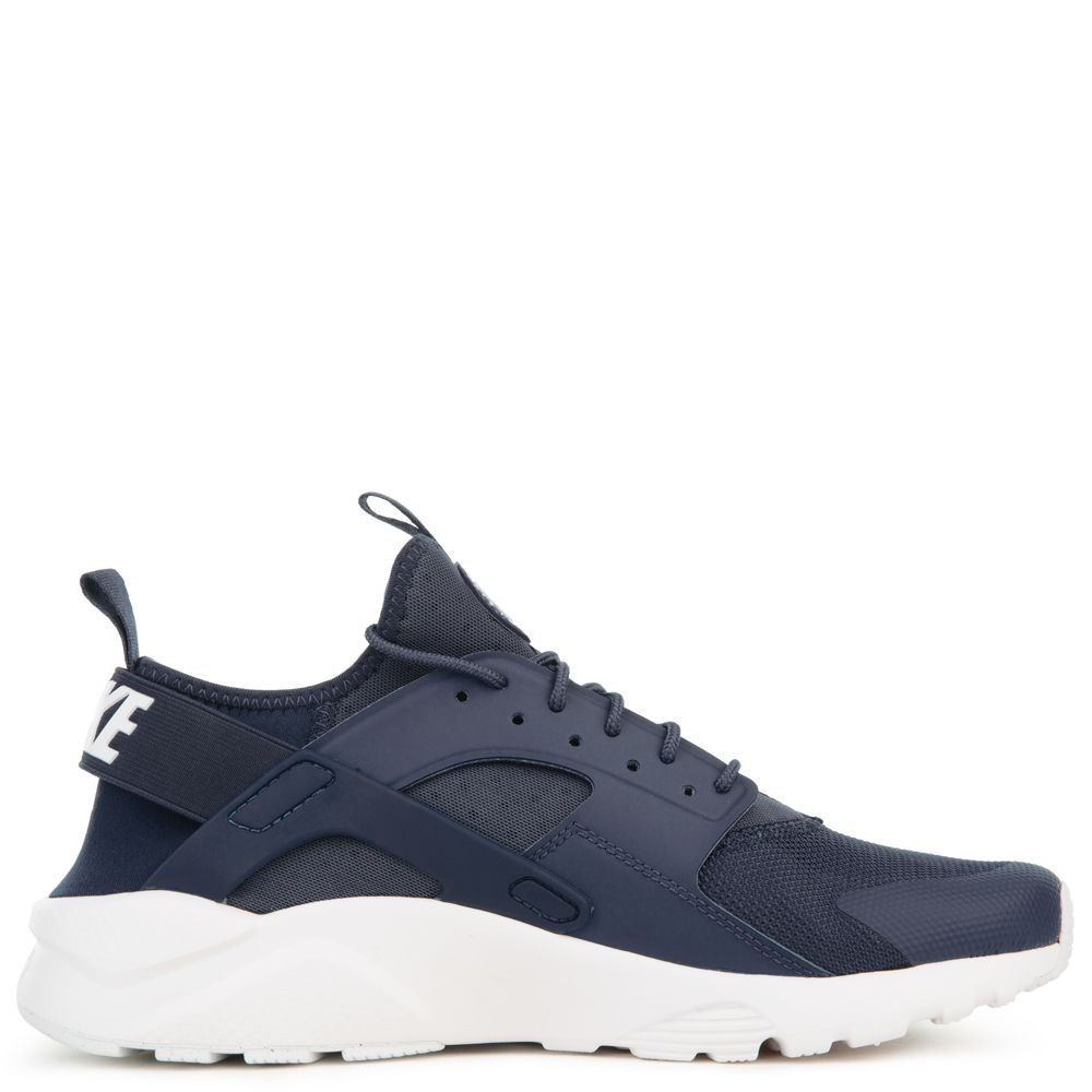 819685-409 Nike Air Huarache Run Ultra Chaussures - Navy/Blanche