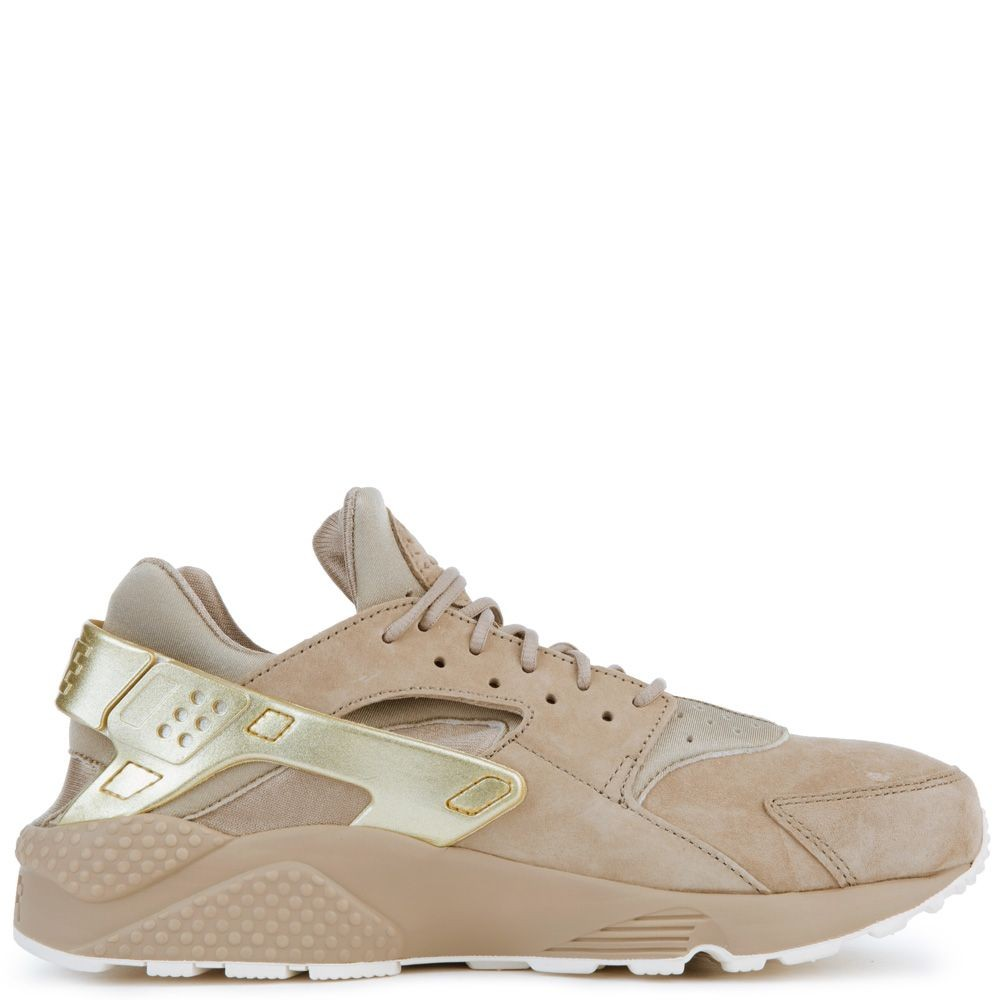704830-201 Nike Air Huarache Run Premium - Khaki/Metalic Gold/Sail